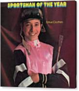 Steve Cauthen, 1977 Sportsman Of The Year Sports Illustrated Cover Canvas Print