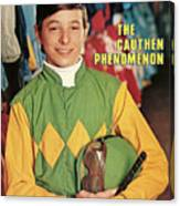 Steve Cauthen, Horse Racing Jockey Sports Illustrated Cover Canvas Print