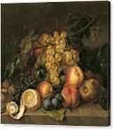 Still Life, 1808 Canvas Print