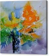 Still Life Watercolor 549110 Canvas Print