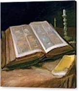 Still Life With Bible - Digital Remastered Edition Canvas Print
