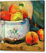 Still Life With Peaches - Digital Remastered Edition Canvas Print