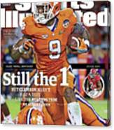 Still The 1, But Clemson Hasnt Had A Test Like The Rolling Sports Illustrated Cover Canvas Print