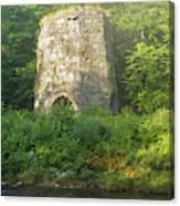 Stone Iron Furnace - Franconia New Hampshire Canvas Print