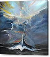 Storm Creators Beaufort Sea Canvas Print