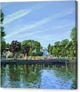 Straw Jack Carshalton Canvas Print