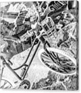 Street Cycles Canvas Print