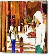 Street Life Innocence Canvas Print