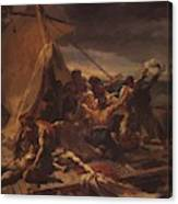 Study For The Raft Of The Medusa Canvas Print