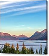 Stunning Alaskan Mountain Lake Canvas Print