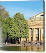 Stuttgart Opera House Canvas Print