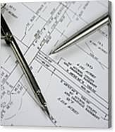 Subdivision Development Planning Canvas Print