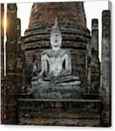Sukhothai Buddha Canvas Print