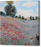 Summer Landscape Oil Painting Canvas Print