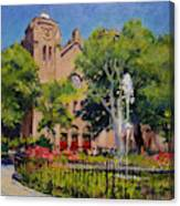Summer Morning, Stuyvesant Square Canvas Print