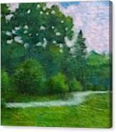 Green Summer  Canvas Print