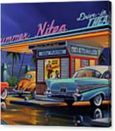 Summer Nites Canvas Print