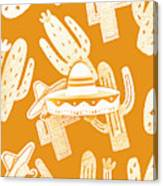 Summerbrero Canvas Print