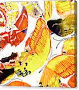 Summers Design Canvas Print