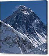 Summit Of Mt Everest8850m Great Details Canvas Print