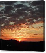 Sunrise 4 Canvas Print