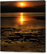 Sunrise Rathtrevor Beach 6 Canvas Print