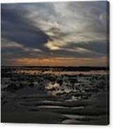 Sunset Over The Rota Corrales Canvas Print