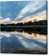 Sunset Reflections Canvas Print