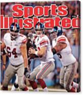 Super Bowl Xlvi... Sports Illustrated Cover Canvas Print