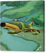 Super Sabres Over Vietnam - Oil Canvas Print