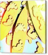 Surfing Pop Canvas Print