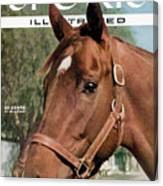 Swaps Is He The Horse Of The Year Sports Illustrated Cover Canvas Print