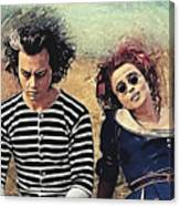 Sweeney Todd And Mrs. Lovett Canvas Print