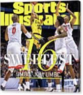 Sweetest 16 Umbc. Just Umbc. Sports Illustrated Cover Canvas Print