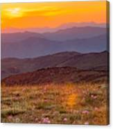 Sweetwater Sunset Canvas Print