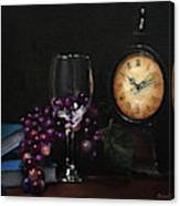 Taking Time Canvas Print