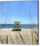 Tamarack Beach Canvas Print