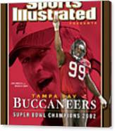 Tampa Bay Buccaneers, Super Bowl Xxxvii Champions Sports Illustrated Cover Canvas Print