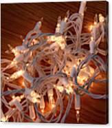 Tangled Lights Canvas Print