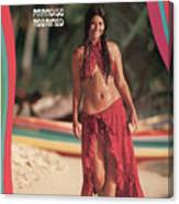 Tannia Rubiano Swimsuit 1971 Sports Illustrated Cover Canvas Print