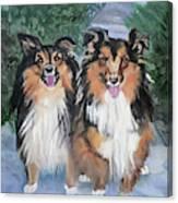Tanya And Tucker Canvas Print