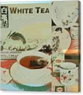 Tea Collage Poster Canvas Print