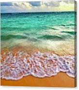 Teal Shore  Canvas Print