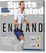 Team England Harry Kane, World Cup 2018 Preview Sports Illustrated Cover Canvas Print
