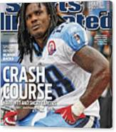 Tennessee Titans Chris Johnson... Sports Illustrated Cover Canvas Print