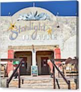 Terlingua Starlight Theatre2 Canvas Print