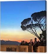 Terrazza Del Pincio Canvas Print