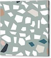 Terrazzo 1- Art By Linda Woods Canvas Print
