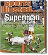 Texas Qb Vince Young, 2006 Rose Bowl Sports Illustrated Cover Canvas Print