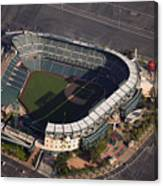 Texas Rangers V Los Angeles Angels Of Canvas Print